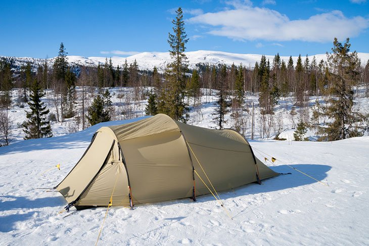 insulating a tent for winter camping