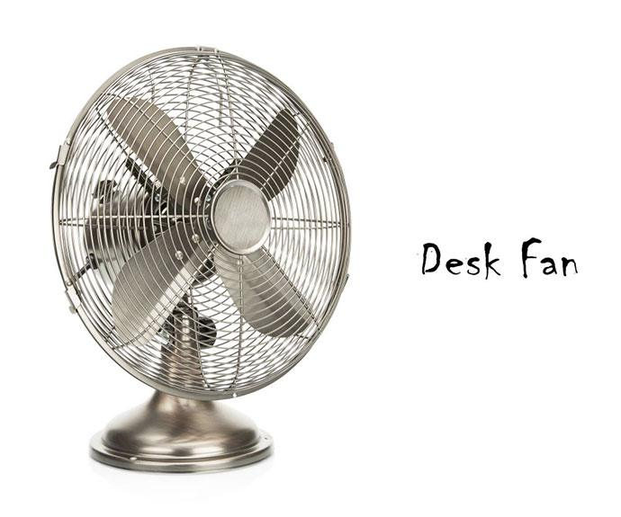 portable solar fan for camping